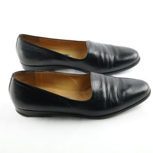 Cole Haan Flats Black Leather Sz 8